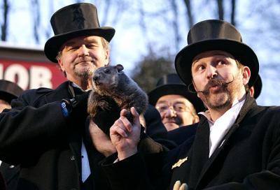 El dia de la marmota en Pennsylvania